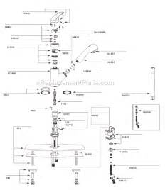 kitchen faucet cartridge replacement moen 67315c parts list and diagram 3 10 to 10 10