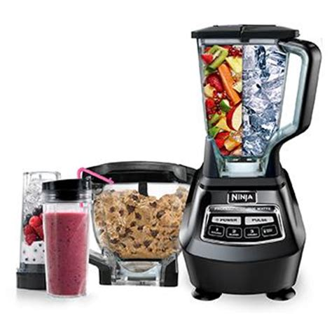 amazoncom ninja mega kitchen system bl electric countertop blenders kitchen dining