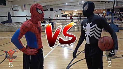 spiderman  venom basketball youtube