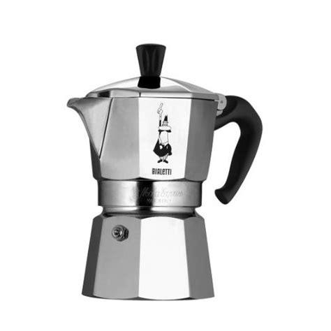 bialetti moka express stovetop espresso maker pot coffee latte 6 cup new ebay