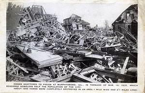 Postcards of Murphysboro after the Tri-state Tornado