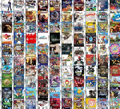 Dnde Estn Los Juegos De Nintendo Ds Consolandoes