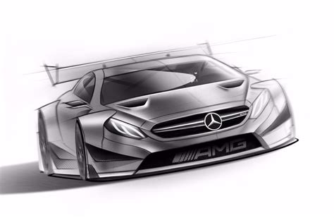 2017 Mercedesamg C63 Coupe Gets Official Racecar