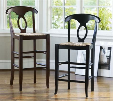 pottery barn napoleon chair honey napoleon 174 barstool pottery barn