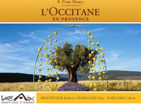 l occitane en provence si鑒e l 39 occitane en provence