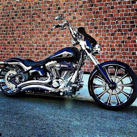 Harley Davidson Breakout Modification by Breakout Heavily Modified Sweet Harley Davidson