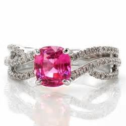 pink sapphire engagement rings engagement ring pink sapphire engagement rings 64