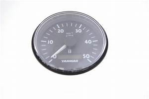 Yanmar Tachometer And Hour Gauge
