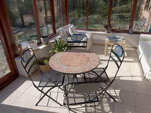 Comment Isoler Sol Pour Vérandas : un sol pratique dans la v randa le carrelage ~ Premium-room.com Idées de Décoration