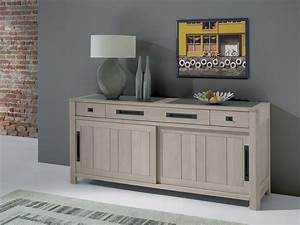 Bahut Chene Massif Contemporain : bahut 2 portes et 3 tiroirs de m de423gm meubles sur ~ Teatrodelosmanantiales.com Idées de Décoration