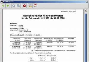Betriebskostenabrechnung Software Kostenlos : mietnebenkostenrechner download ~ Michelbontemps.com Haus und Dekorationen