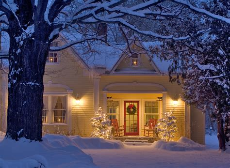 Cozy Christmas Home Decor: Very Special Photos From Vermont Christmas Celebration
