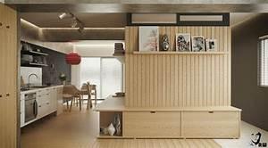 Regal Dekorativ Einrichten : einraumwohnung einrichten zimmer gestalten mit praktischen wohnideen ~ Eleganceandgraceweddings.com Haus und Dekorationen