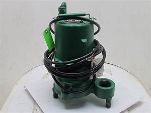 Hydromatic Shef100m4 Submersible Effluent Sump Pump 1hp