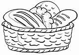 Coloring Loaf sketch template