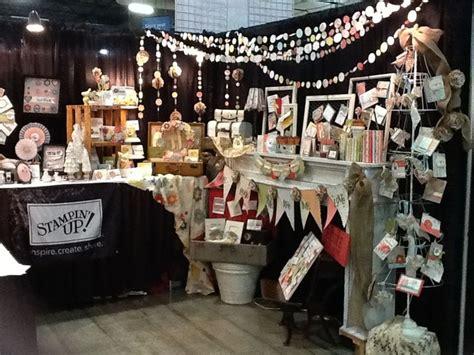 stampin  booth   pleasanton scrapbook expo craft