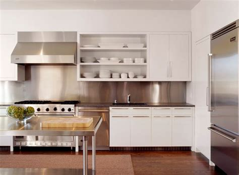 kitchen stainless steel backsplash how to the most of stainless steel backsplashes