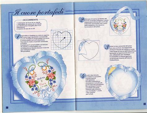 cuscini portafedi punto croce portafedi cuore fiori 1 magiedifilo it punto croce