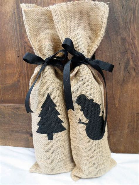 adorable burlap christmas gifts wrapping ideas