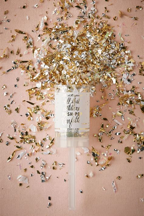 Glitter And Glam Confetti Push Pop From Bhldn Embellished