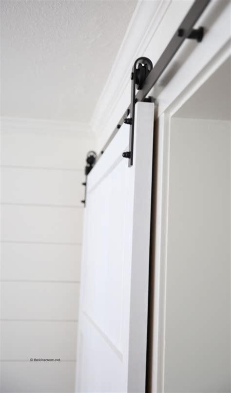 installing a barn door how to install barn door hardware the idea room