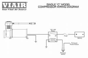 Viair 90101 Air Ride Suspension Pressure Switch 85  105 Psi