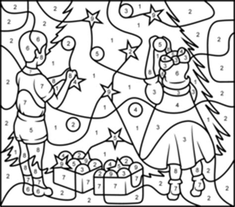 christmas tree coloring page printables apps for kids