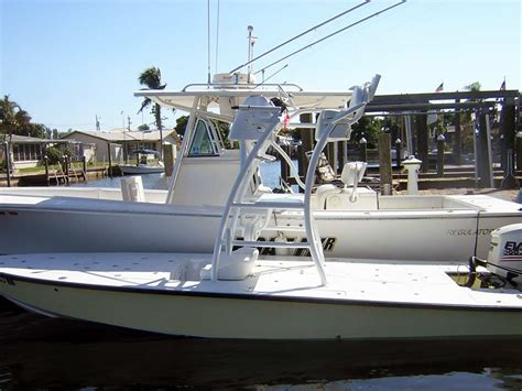 Custom Built Bay Boats by Custom Flats Boat And Bay Boat Towers By Welding
