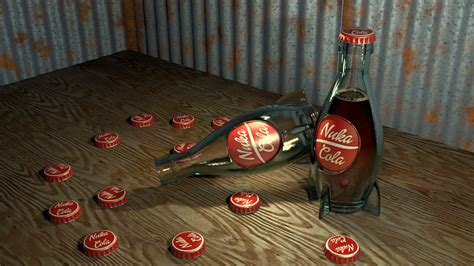 nuka cola 3d stereograph 3d assets included by krist