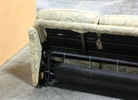 Rv Furniture Used Rv Swirl Pattern Cloth Pull Out Sleeper