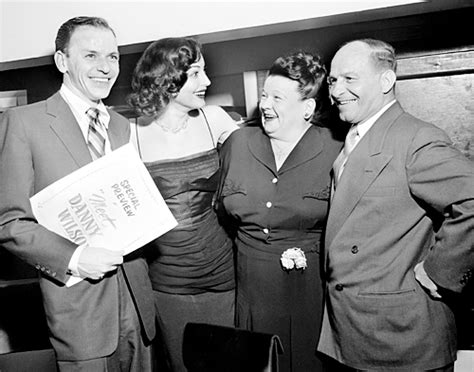 Frank Sinatra At The Premiere Of His Film Meet Danny