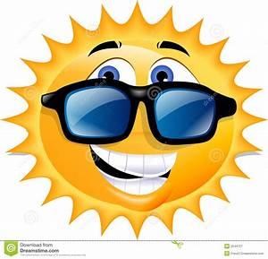 Cute Sun With Sunglasses Clipart   Clipart Panda - Free ...
