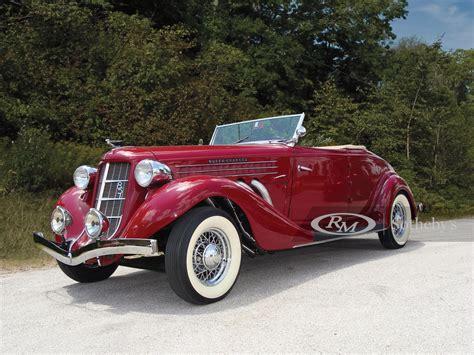 1935 Auburn 851SC Cabriolet   Automobiles of Arizona 2010 ...
