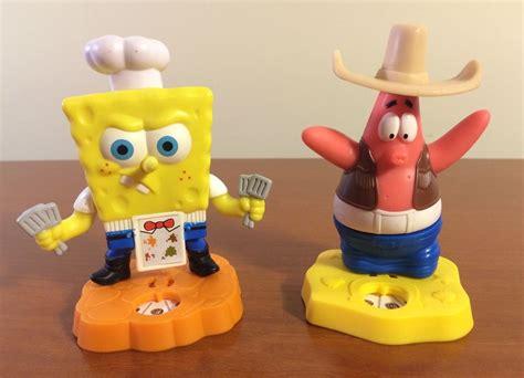 Spongebob & Patrick Toy Figure Lot