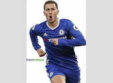 Eden Hazard football render 31534 FootyRenders