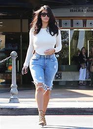 Kim Kardashian Jean Shorts