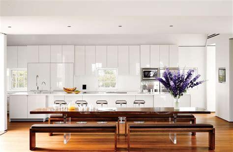 cuisines blanches design cuisine blanche laquée 99 exemples modernes et élégants