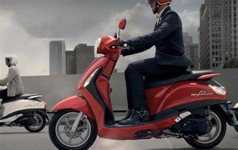 yamaha grand filano cc trendy lifestyle scooter spotted
