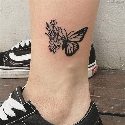 Tatuajes en el Tobillo【Propuestas con Fotos】 Moda y