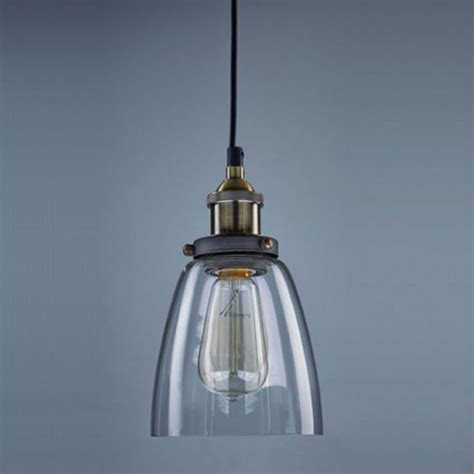new retro pendant l vintage chandelier glass shade