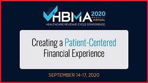 Hbma 2020  Creating A Patient
