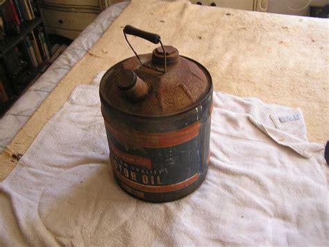 Vintage Allstate 5 Gallon Motor Oil Jug