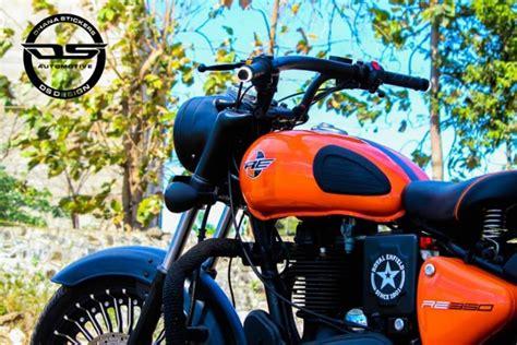 Modified Bike Logos by Bike Modified Sticker Hd Royal Enfield Standard Modified