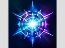 Abstract bright shining light circle vector 07 Vector