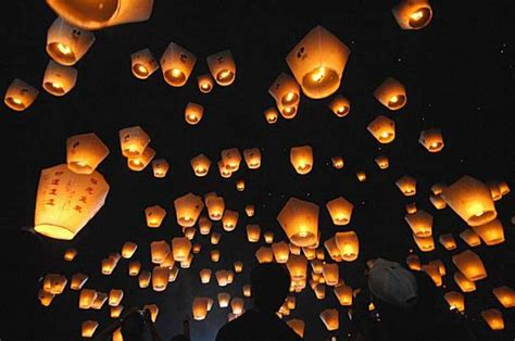 release sky lanterns in pinghsi a township in taiwan s photo photo 36047 sfgate