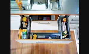 Armoire Rangement Cuisine : tiroirs de rangement sous vier rangement pour armoires de cuisine accessoires de cuisine ~ Teatrodelosmanantiales.com Idées de Décoration