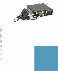 Motorola Mototrbo Xpr 4500  Mototrbo Xpr 4550  Mototrbo