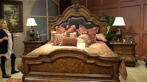 tuscano melange bedroom set  michael amini aico home