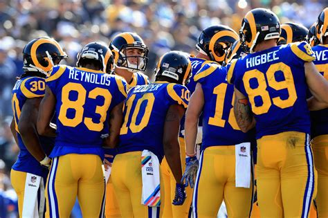 los angeles rams scoring offense  pace   nfl history