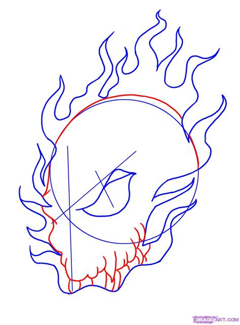 How Draw Cool Skull Step Skulls Pop